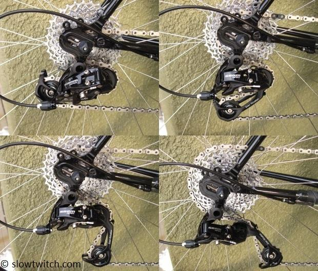 Tension Pulley menyesuaikan panjang sisa rantai sepeda