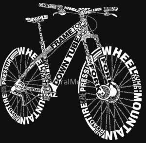 Anatomi sepeda gunung