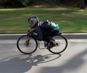 Sepeda Gravity - semakin rendah semakin cepat