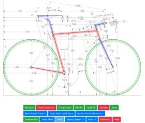 Kalkulator dimensi rangka - bikegeocalc.com