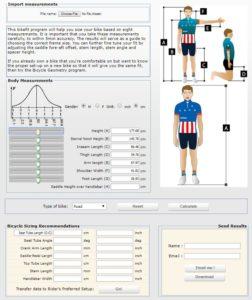 Kalkulator Bike Fit - pedalforce.com