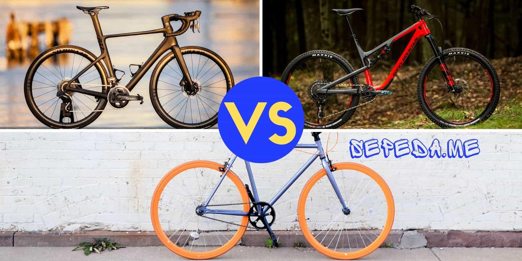 Perbandingan spesifikasi dan harga sepeda