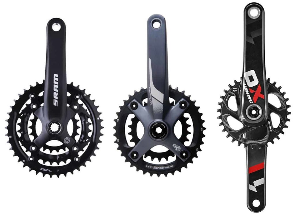 SRAM Triple - Double - Single Chainring