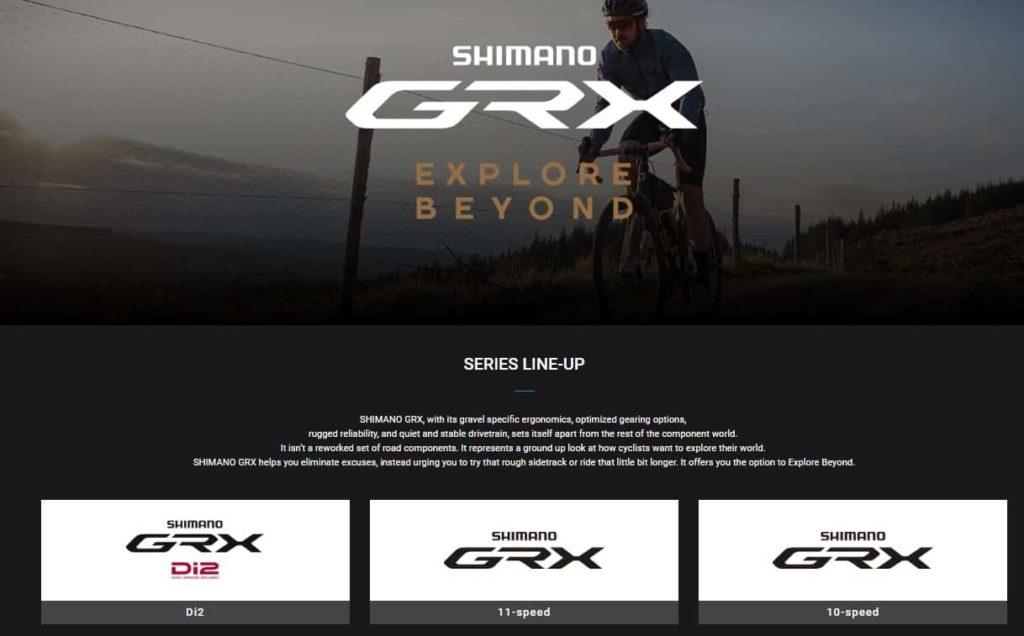 Shimano GRX untuk sepeda gravel