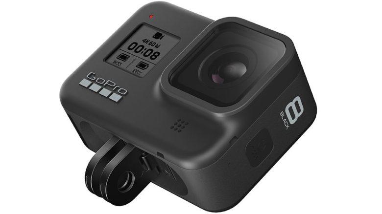 Action camera GoPro Hero 8 Black mount