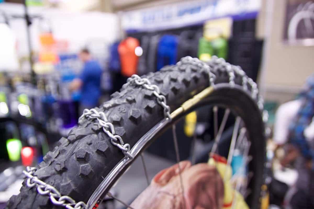Bike hack - Rantai di ban sepeda