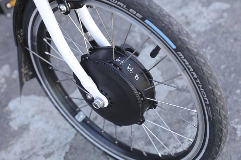 Hub motor sepeda lipat listrik Brompton