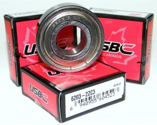 Kode bearing 6203-ZZC3