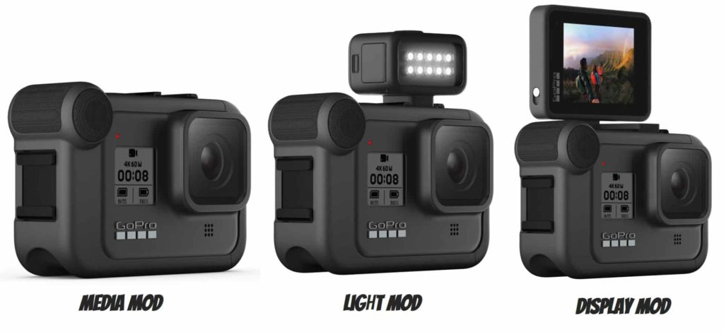 Media - Light - Display Mod GoPro Hero 8 Black