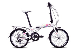 Sepeda Lipat Polygon Urbano Hello Kitty