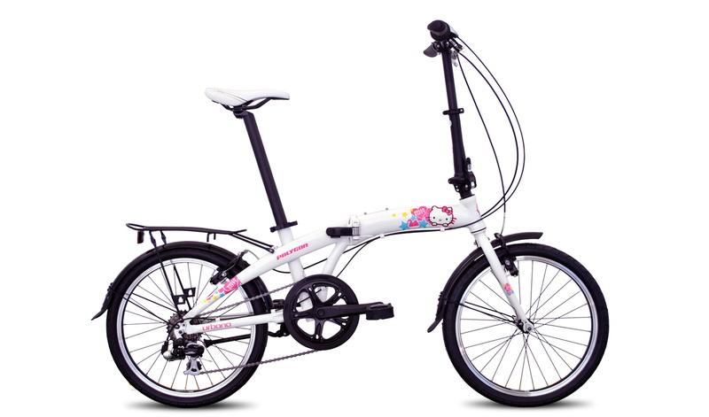 Spesifikasi dan Harga Polygon Urbano Hello Kitty Sepeda.Me