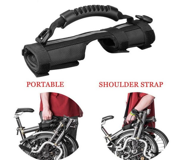 Handle handgrip untuk sepeda lipat