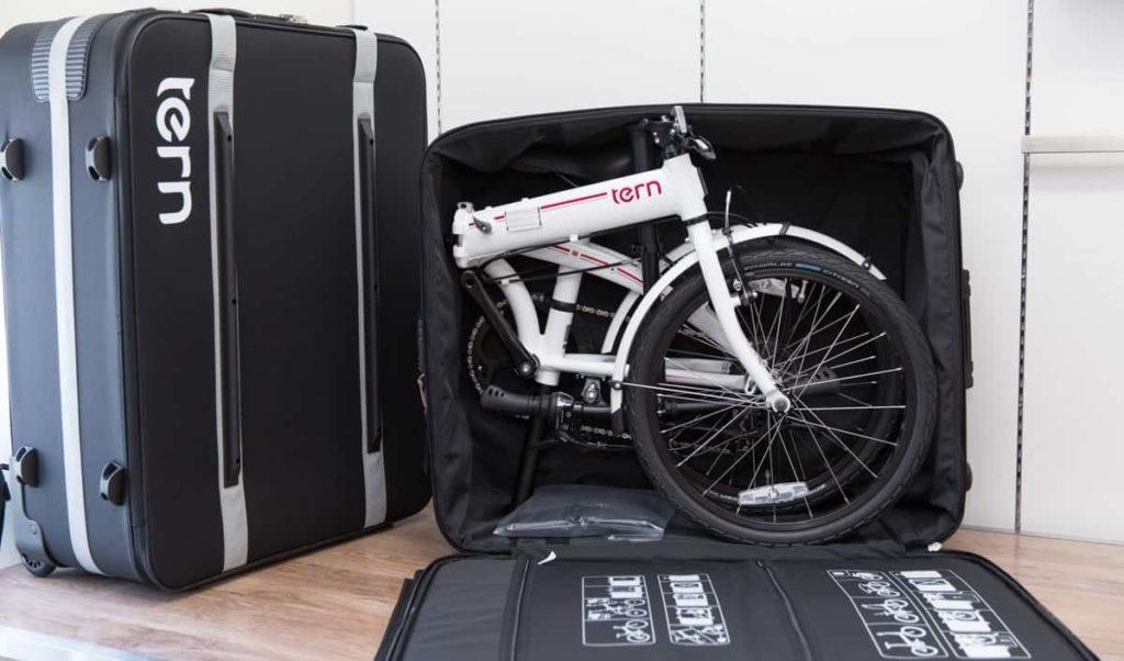 Hardcase-koper sepeda lipat