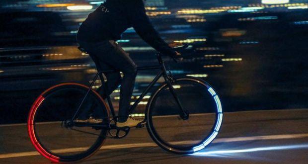 Gear dan lampu sepeda unik