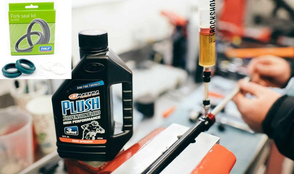 Maxima Plush Suspension fluid dan SKF seal Fork