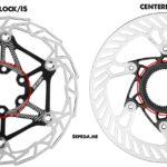 Perbedaan Rotor disc brake 6 lock dan centerlock