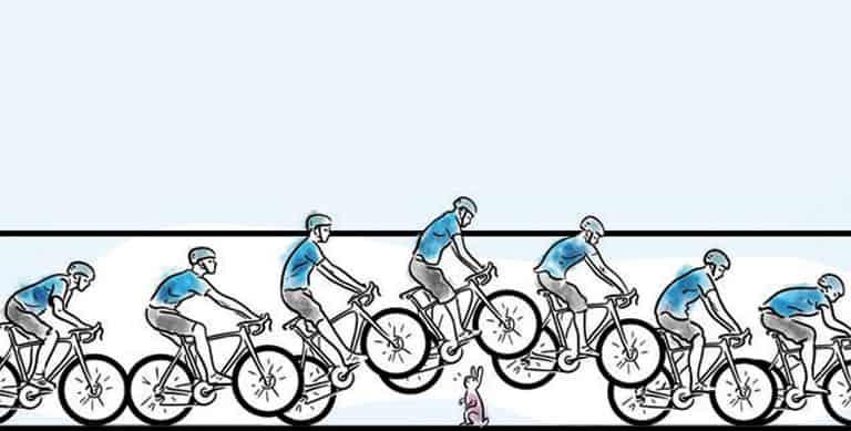 Cara melakukan Bunny Hop sepeda