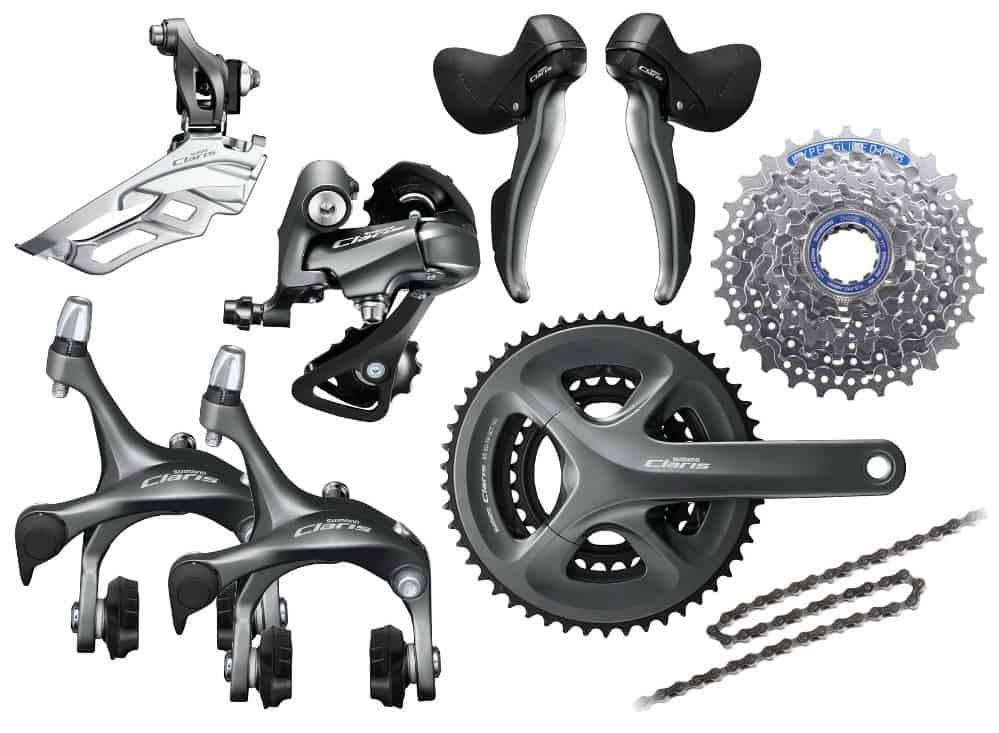 Groupset Sepeda Balap Shimano Claris (R2000)