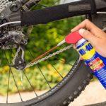 Pemakaian WD 40 untuk sepeda