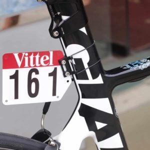 Plat nomor pembalap sepeda