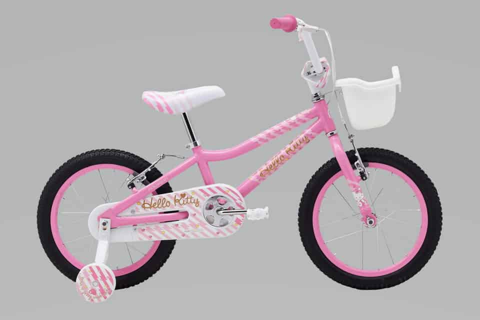 Sepeda anak perempuan Polygon Hello Kitty 16