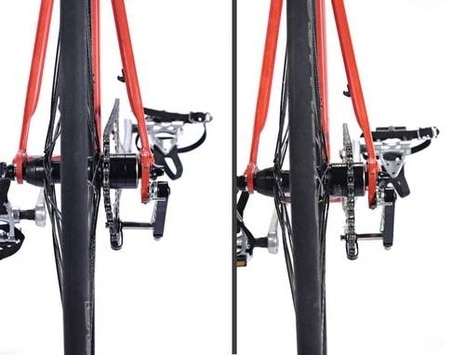 Chainline pada sepeda fixie