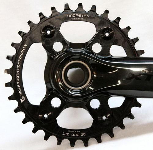 Crank sepeda single chainring