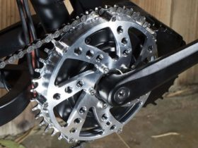 NOS 30t Rain Drop Bicycle Chain Ring