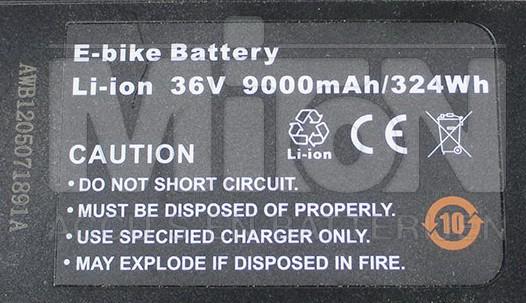 Volt-Ampere hour- Watt Hours pada batre sepeda listrik