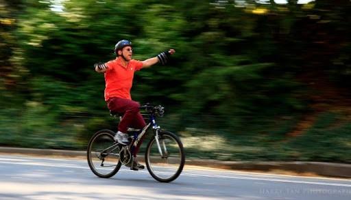coasting di sepeda