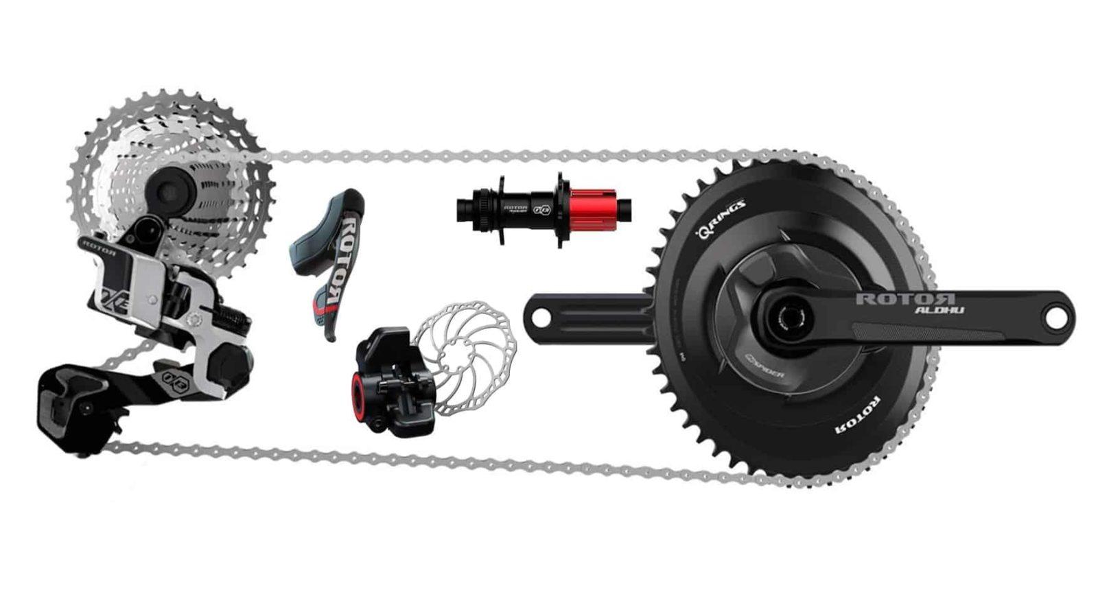 Groupset 13 speed Rotor untuk sepeda balap