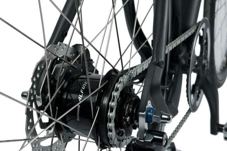 Internal Hub gear dengan sprocket 16T