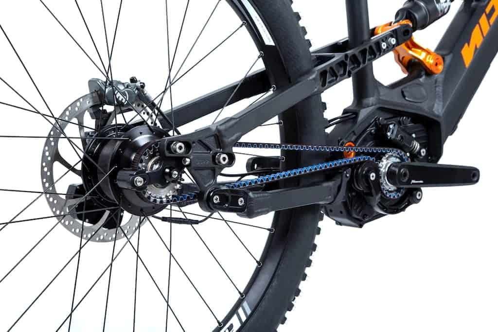 Sepeda 14 speed dengan hub gear