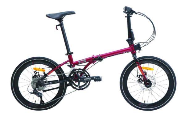 Sepeda Lipat Element Nicks (451) 20 inchi 9 Speed