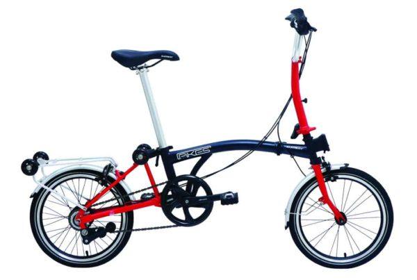 Sepeda Lipat Element Pikes 16 inchi 8 Speed