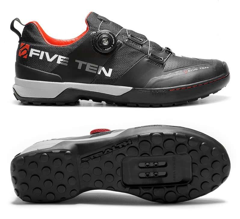 Sepatu sepeda Cleat Adidas Five Ten Kestrel Clipless MTB