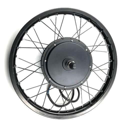 Jari-jari sepeda listrik dengan direct hub motor