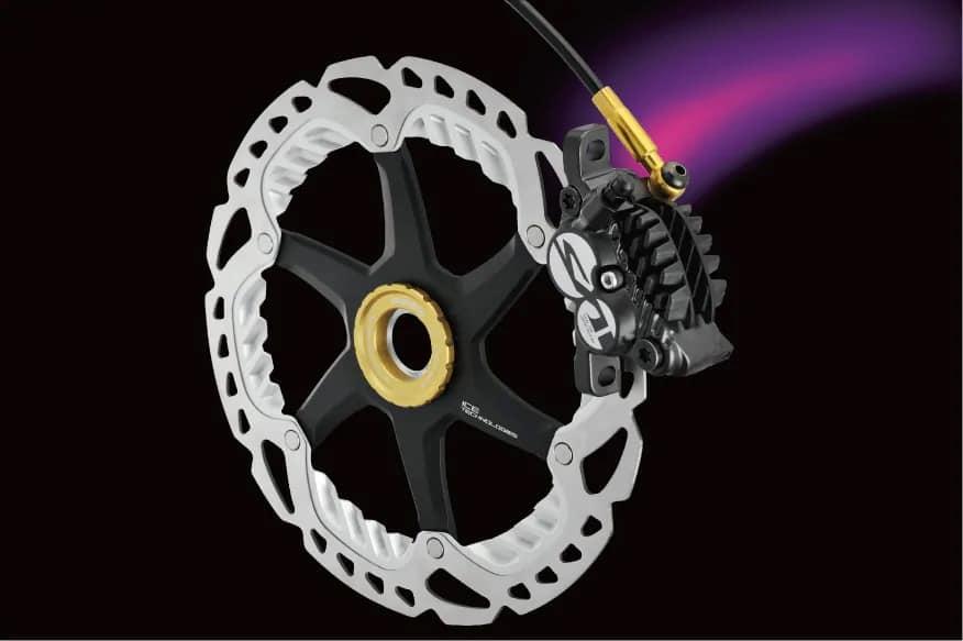 Rotor 2 struktur Shimano Ice dengan fitur radiator dan fin