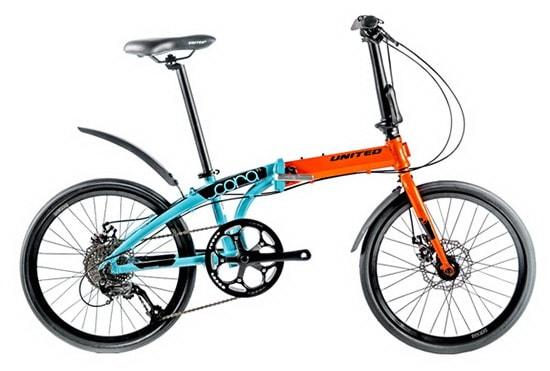 Sepeda Lipat United CORA 9S 2020
