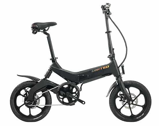Sepeda lipat listrik United IO