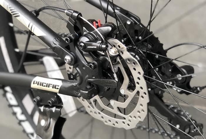 Sistem Rem disc brake mekanik Pacific Override