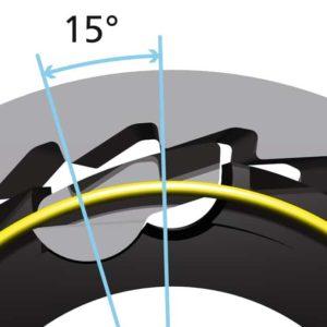 Point of engagement (POE) hub roda