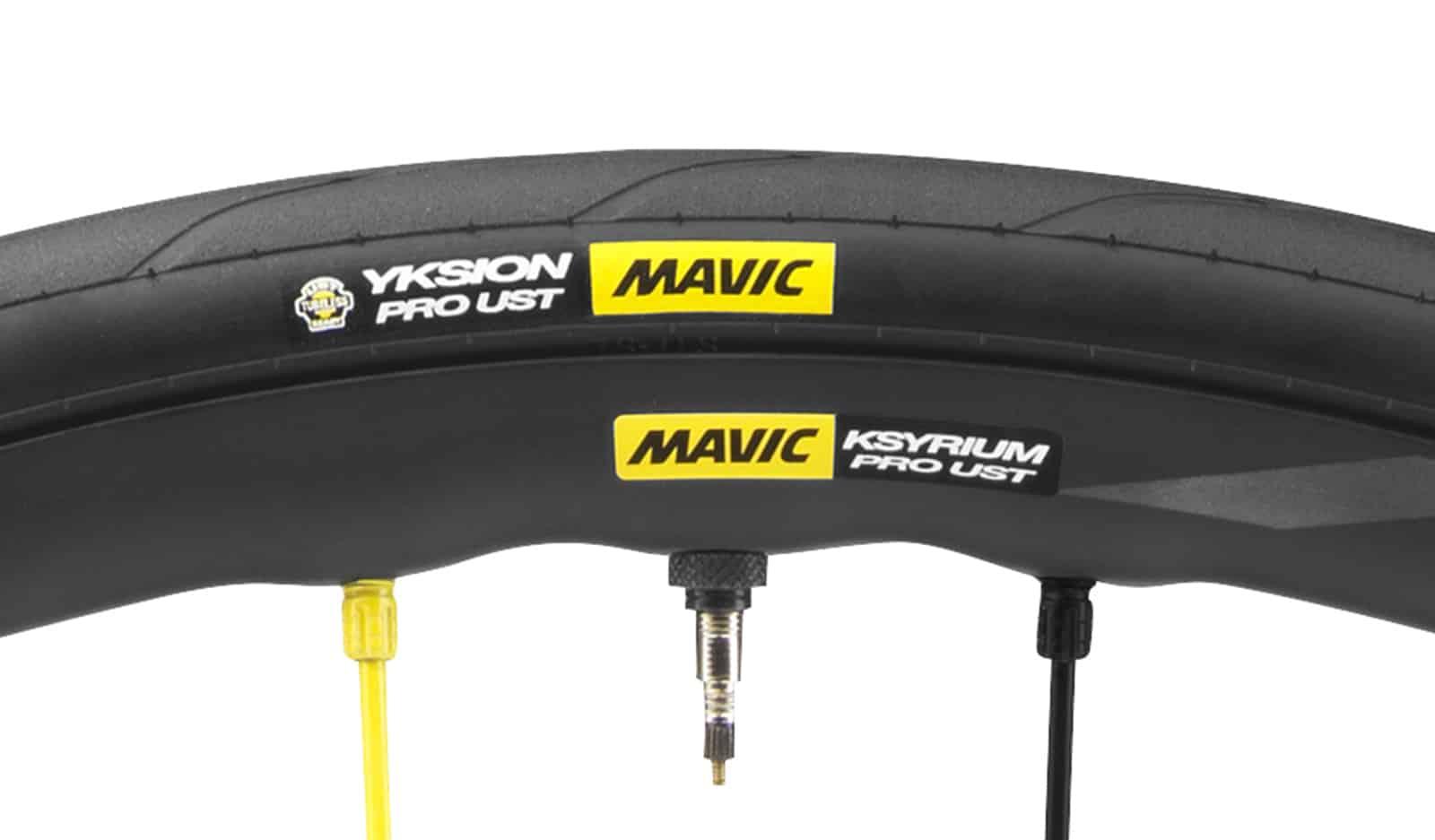 Rim dan ban sepeda mavic dengan sertifikat UST