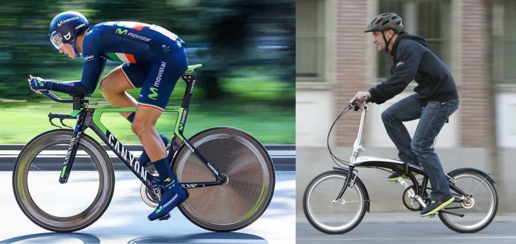 Sepeda Balap Vs Sepeda Lipat