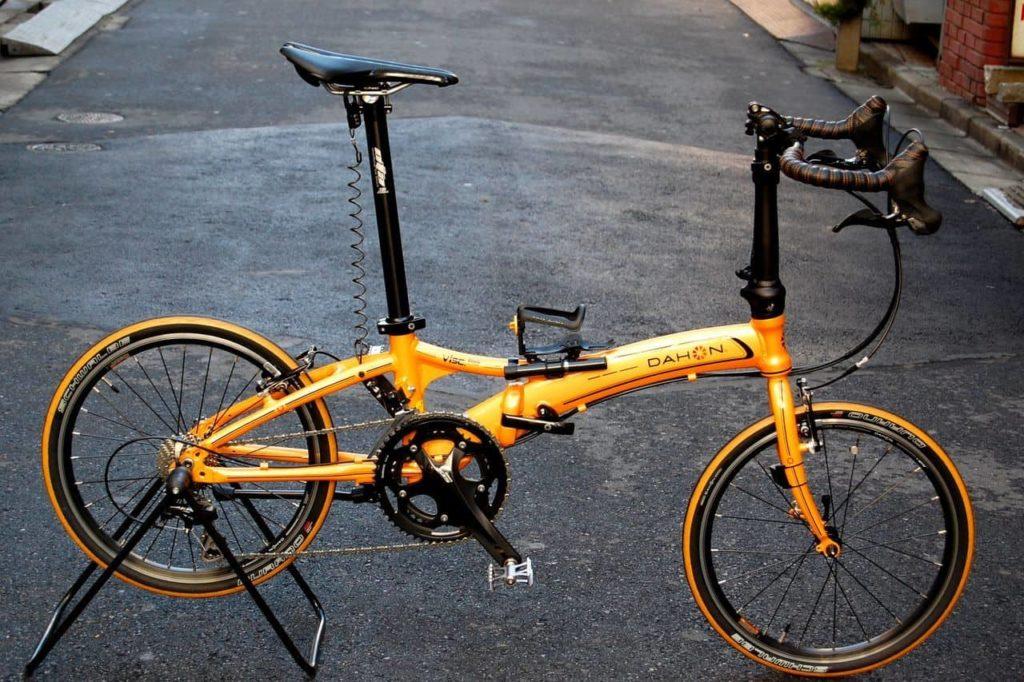 Sepeda lipat Dahon custom-modifikasi