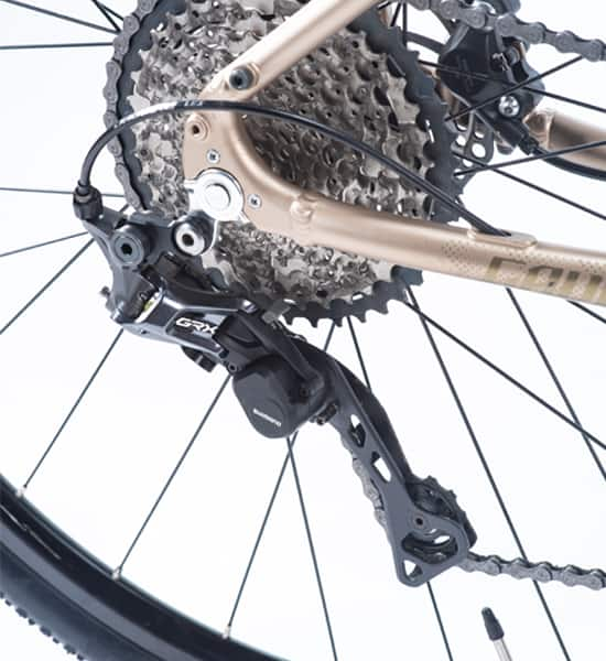 Sprocket dan Rear Derailleur 11 Speed Shimano GRX