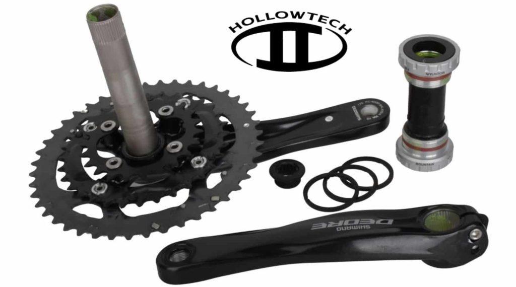 Crank dan bottom bracket hollowtech II (HT2)