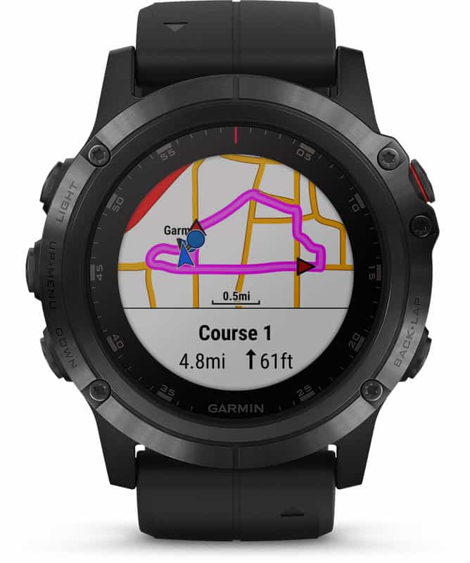 Smartwatch Garmin Fenix dengan koneksi Strava