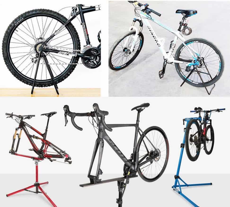 Jagang dan repair stand sepeda