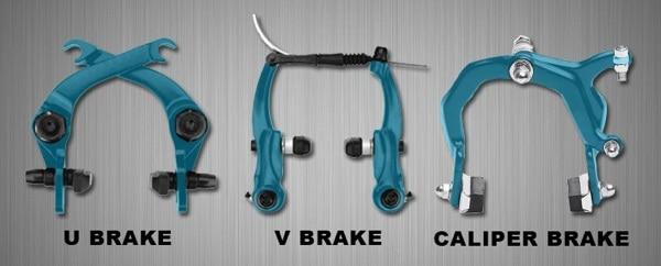 Perbedaan jenis-jenis rem rim brake